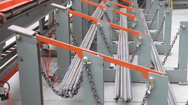 Rebar Shearing Line Gjw0816 80t 160mm Tjk Machinery